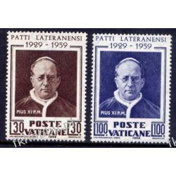Watykan 1959 Mi 313-14 ** Papież Pius XI Owady