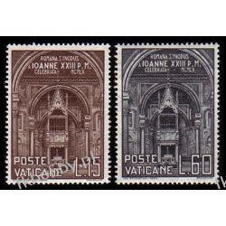 Watykan 1960 Mi 332-33 ** Kościół Architektura Marynistyka