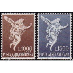 Watykan 1962 Mi 391-92 ** Anioł Gabriel Pozostałe