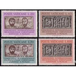 Watykan 1962 Mi 408-11 ** Archeologia Marynistyka