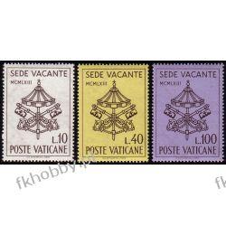 Watykan 1963 Mi 429-31 ** Sade Vacante