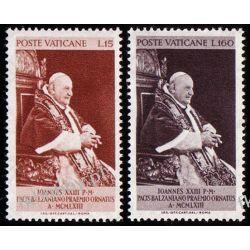 Watykan 1963 Mi 427-28 ** Jan XXIII Papież