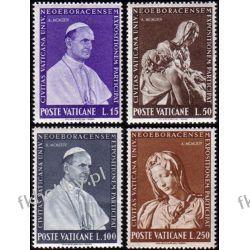 Watykan 1964 Mi 450-53 ** Papież Paweł VI Pieta Pozostałe