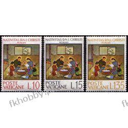 Watykan 1964 Mi 464-66 ** Boże Narodzenie Flora