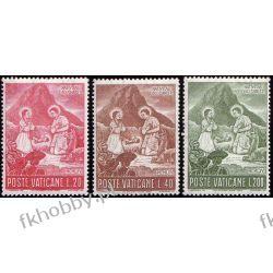 Watykan 1965 Mi 487-89 ** Boże Narodzenie Sport