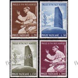 Watykan 1965 Mi 483-86 ** Papież Paweł VI Marynistyka