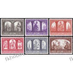 Watykan 1966 Mi 502-07 ** Chrzest Polski Millenium Pozostałe