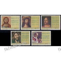 Watykan 1970 Mi 564-68 ** Papież Paweł VI Flora