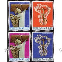 Watykan 1971 Mi 577-80 ** Anioł Gołąb Pozostałe