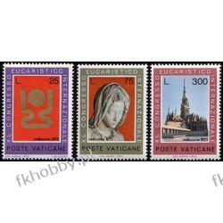 Watykan 1973 Mi 615-17 ** Kongres Katedra Pieta Pozostałe