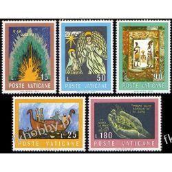 Watykan 1974 Mi 635-39 ** Biblia Anioł Noe Dłonie
