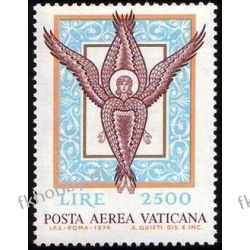 Watykan 1974 Mi 632 ** Anioł Mozaika