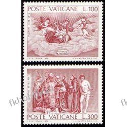 Watykan 1976 Mi 678-79 ** Tycjan Malarstwo Pozostałe