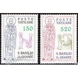 Watykan 1979 Mi 743-44 ** Święty Bazyli San Marino