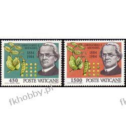 Watykan 1984 Mi 844-45 ** Gregor Mendel Genetyka Pozostałe