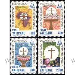 Watykan 1985 Mi 876-79 ** Kongres Eucharystyczny Owady