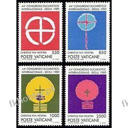 Watykan 1989 Mi 984-87 ** Kongres Sport