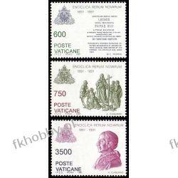 Watykan 1991 Mi 1035-37 ** Papież Leon XIII Pozostałe