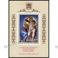 Watykan 1994 Mi BL 14 ** Kaplica Sykstyńska Marynistyka