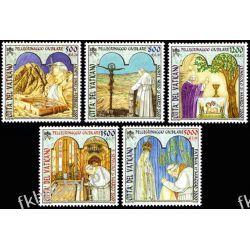 Watykan 2001 Mi 1375-79 ** Jan Paweł II Papież Sport