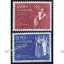 Dania 1982 Mi 749-50 ** Słania Europa Cept Folklor Pozostałe