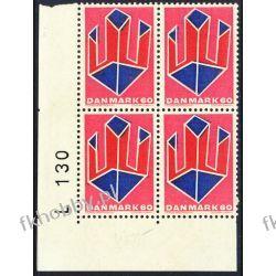 Dania 1969 Mi 486 x4 ** Czesław Słania