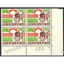 Dania 1970 Mi 495 x4 ** Czesław Słania Renifer b San Marino