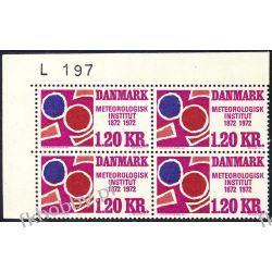 Dania 1972 Mi 521 x4 ** Czesław Słania Sport