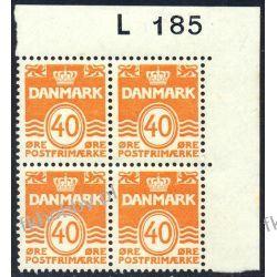 Dania 1971 Mi 512 x4 ** Czesław Słania Obiegowy b Polskie