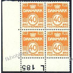 Dania 1971 Mi 512 x4 ** Czesław Słania Obiegowy a Pozostałe