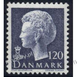 Dania 1974 Mi 562 ** Czesław Słania Królowa Druk wklęsły