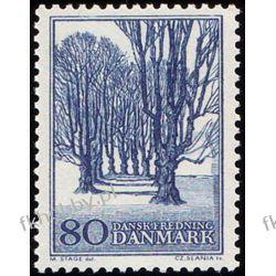 Dania 1966 Mi 443 ** Czesław Słania Drzewo Sport