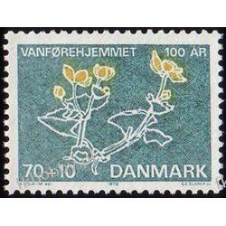 Dania 1972 Mi 529 ** Czesław Słania Kwiaty Pozostałe