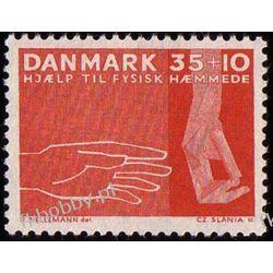 Dania 1963 Mi 415 ** Czesław Słania Dłoń Ręka