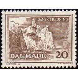 Dania 1962 Mi 408 ** Czesław Słania Druk wklęsły