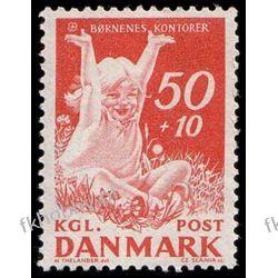 Dania 1965 Mi 436 ** Czesław Słania Dzieci Pozostałe
