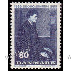 Dania 1966 Mi 444 ** Czesław Słania Georg Jensen Pozostałe