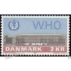 Dania 1972 Mi 531 ** Czesław Słania WHO Polonica