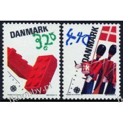 Dania 1989 Mi 950-51 ** Europa Cept Zabawki Sport