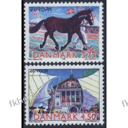 Dania 1998 Mi 1188-89 ** Europa Cept Koń Pozostałe