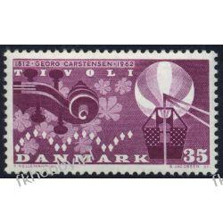 Dania 1962 Mi 407 ** Georg Carstensen Muzyka Marynistyka