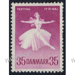 Dania 1959 Mi 374 ** Muzyka Balet Polskie