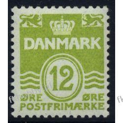 Dania 1952 Mi 332 ** Obiegowy Liechtenstein