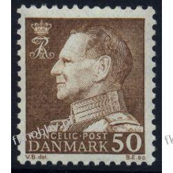 Dania 1967 Mi 457 ** Król Fryderyk IX Flora