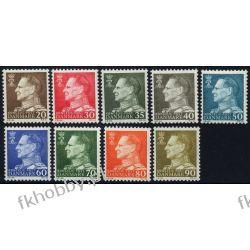 Dania 1961 Mi 390-98 ** Król Fryderyk IX Pozostałe