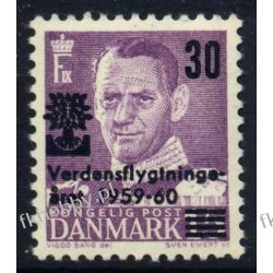 Dania 1960 Mi 377 ** Król Fryderyk IX Polskie