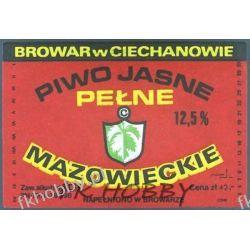 Polska Browar Ciechanów Etykieta Mazowieckie 45.1 Birofilistyka