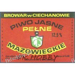 Polska Browar Ciechanów Etykieta Mazowieckie 45.2 Birofilistyka
