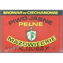 Polska Browar Ciechanów Etykieta Mazowieckie 45.3 Birofilistyka