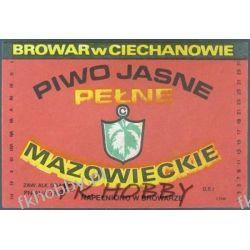 Polska Browar Ciechanów Etykieta Mazowieckie 45.4 Birofilistyka